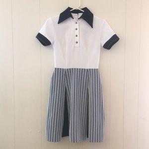 Dresses & Skirts - 🎀True Vintage navy striped dress